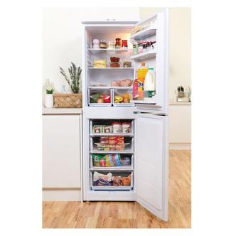 Indesit IBD5517W Fridge Freezer in White 1 74m W55cm F Rated