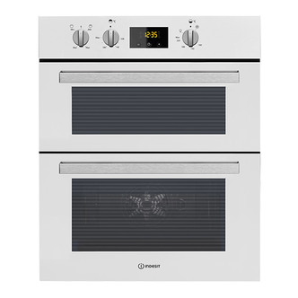 Indesit IDU6340WH 60cm Built Under Double Electric Oven in White