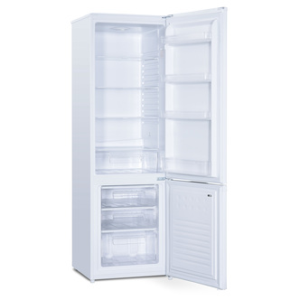 Iceking IK20568W 55cm Fridge Freezer in White 1 76m 80 20 Split F Rate