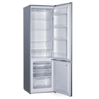 Iceking IK20569S 55cm Fridge Freezer in Silver 1 76m 80 20 Split F Rat