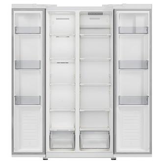 Iceking IK436W E American Frost Free Fridge Freezer in White F Rated
