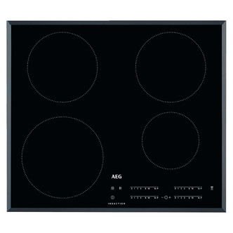 AEG IKB64401FB 60cm Built In Induction Hob in Black Glass Hob2Hood