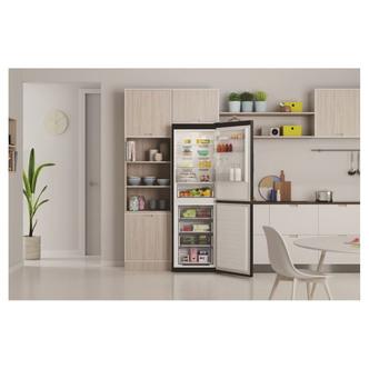 Indesit INFC850TI1K1 60cm Frost Free Fridge Freezer in Black 1 89m F R