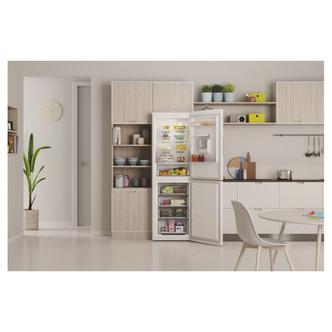 Indesit INFC850TI1WA 60cm Frost Free Fridge Freezer White 1 89m Water