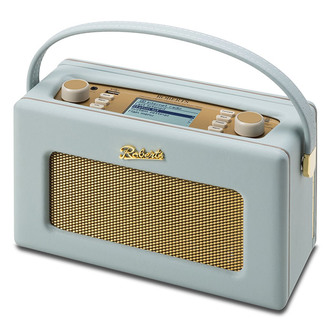 Roberts ISTREAM2DE ISTREAM2 DAB FM Wi Fi Internet Radio in Duck Egg