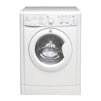 Indesit IWDC6125 Washer Dryer in White 1200rpm 6kg Wash 5kg Dry
