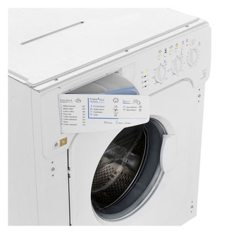 Indesit IWME147UK Integrated Washing Machine 1400rpm 7kg A Rated