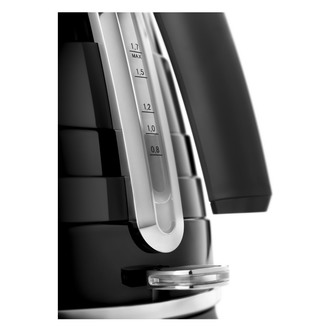 Delonghi KBA3001 BK AVVOLTA Cordless Jug Kettle in Black 1 7L 2 0kW