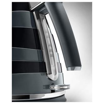 Delonghi KBAC3001BK AVVOLTA Cordless Jug Kettle in Black 1 7L 3 0kW