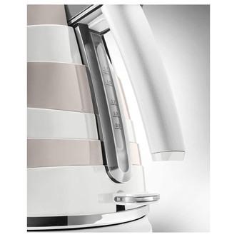 Delonghi KBAC3001W AVVOLTA Cordless Jug Kettle in White 1 7L 3 0kW