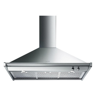 Smeg KD100XE 100cm Opera Cooker Hood in St Steel Energy Rating A