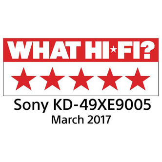 Sony KD49XE9005BU 49 4K HDR Ultra HD Smart Android LED TV 1000Hz Black