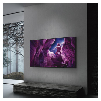 LED TV Sony KD65A8BU 65 4K HDR UHD Android OLED TV Acoustic Surface Audio