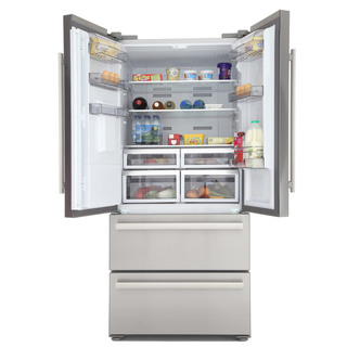 Blomberg KFD4952XD American Style Four Door Fridge Freezer in St Steel