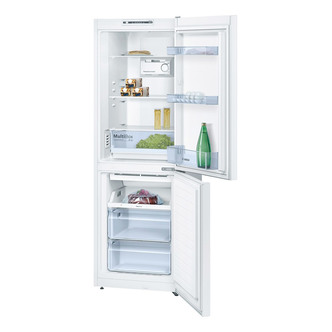 Bosch KGN33NW20G EXXCEL Frost Free Fridge Freezer in White 1 76m A