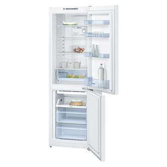 Image of Bosch KGN36NW30G Serie 2 Frost Free Fridge Freezer in White 1 86m A