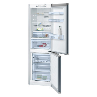 Bosch KGN36VL35G Serie 4 60cm No Frost Fridge Freezer in St St 1 86m A
