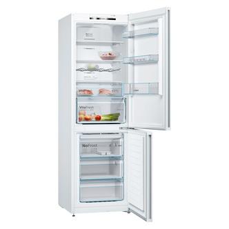 Image of Bosch KGN36VWEAG Frost Free Fridge Freezer in White 1 86m A