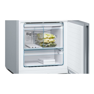 Image of Bosch KGN56XLEA Serie 4 NoFrost Fridge Freezer in St Steel 1 93m A