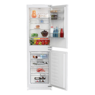Image of Blomberg KNM4561I Integrated Frost Free Fridge Freezer 1 77m 50 50 A
