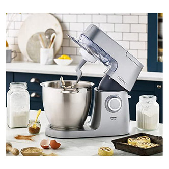 Kenwood KVL6100S Chef Elite XL Stand Mixer in Silver 6 7L 1400W
