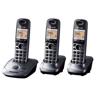 Panasonic KX TG2523EM Triple Phone with Answer Machine