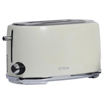 Image of Linsar KY832CREAM 4 Slice Toaster in Cream