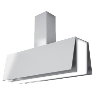 Luxair LA100 ANG SS 100cm ANGELO Auto Opening Cooker Hood in St Steel