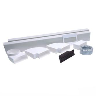 Luxair LA0023M 3 5 Metre Cooker Hood Ducting Kit