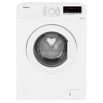 Image of Blomberg LBF16230W Washing Machine in White 1200rpm 6kg Slim Dep 3yr G