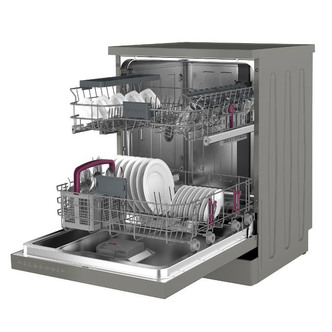 Image of Blomberg LDF42240G 60cm Dishwasher in Graphite 14 Place Set A 3yr Gtee