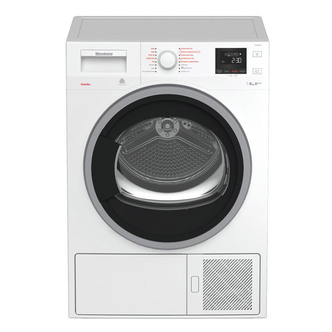 Image of Blomberg LTH3842W 8kg Heat Pump Condenser Dryer in White Sensor A