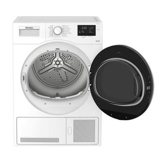 Image of Blomberg LTK28021W 8kg Condenser Tumble Dryer in White Sensor B Energy