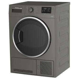 Blomberg LTK28031G 8kg Condenser Tumble Dryer in Graphite Sensor B Ene