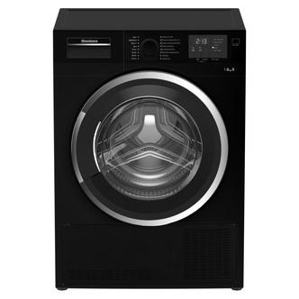 Blomberg LTK2803B 8kg Condenser Tumble Dryer in Black Sensor B Energy
