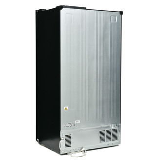 Montpellier M510BK American Fridge Freezer in Black 1 79m F Rated