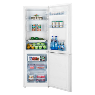 Fridgemaster MC55231FF Frost Free Fridge Freezer in White 1 69m 231L A