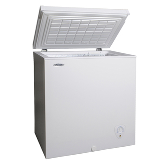 Fridgemaster MCF145 Chest Freezer in White 145L 5 2 cu ft A Rated