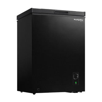 Montpellier MCF99BLK 55cm Chest Freezer in Black 99 Litre 0 85m F Rate
