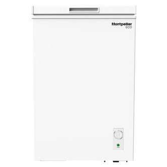 Montpellier MCF99W 55cm Chest Freezer in White 99 Litre 0 85m A Rated