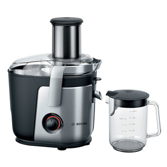 Bosch MES4000GB 1000W Whole Fruit Juicer in Brushed Steel