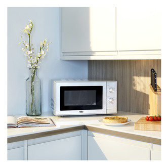 Beko MOC20100W Microwave Oven in White 20 Litre 700W