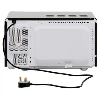Beko MOC20200B Retro Style Microwave Oven in Black 20 Litre 800W
