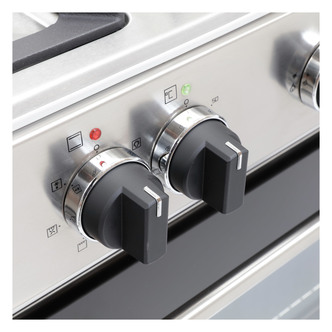 Image of Montpellier MR91DFMX 90cm Single Cavity Dual Fuel Range Cooker in St S