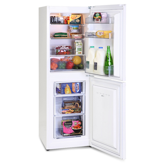 Montpellier MS148W Fridge Freezer in White 1 48m 48cmW A Rated