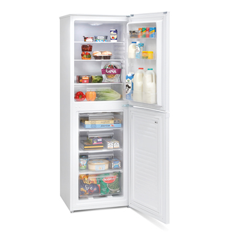 Montpellier MS171W Fridge Freezer in White 1 73m 55cmW A Rated