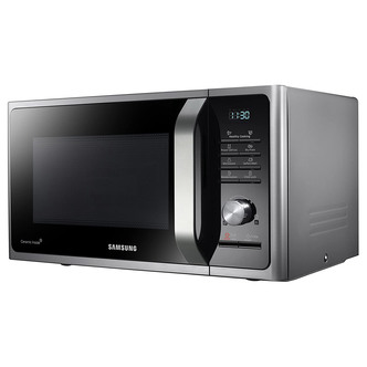 Samsung MS28F303TFS Microwave Oven in Silver 28L 1000W Steam Function