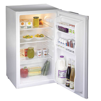 Fridgemaster MUL49102 50cm Undercounter Larder Fridge in White A Rated