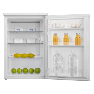 Fridgemaster MUL55137A2 55cm Undercounter Larder Fridge in White A Rat