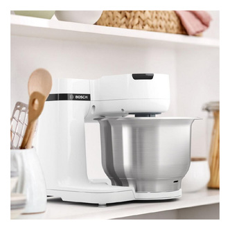 Bosch MUMS2EW00G Stand Mixer in White 700W 3 8L Bowl